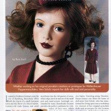 Размышления о Вере Шольц. Статья на английскоя языке в журнале DOLL READER (май 1999). Автор Мэри Графф