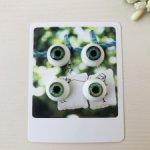 Глаза для кукол 14 мм (радужка 7,5 мм)