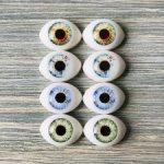 """Глаза для кукол """"рыбки"""" 12 мм (радужка 6,5 мм)"""