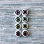 Глаза для кукол 8 мм (радужка 4,5 мм) распродажаЗдравствуйте