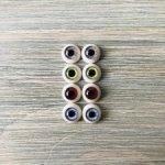 Глаза для кукол 8 мм (радужка 4,5 мм)