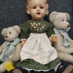 König& Wernicke1379, Кёниг и Вернике редкая антикварная кукла