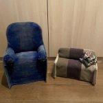 Авторские кресло и диван