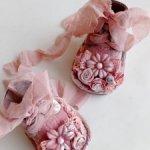 Ботиночки в стиле Шебби шик