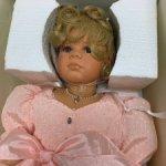 Кукла фарфор от  Margit Dassen,