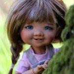 Gigi от Meadow dolls шоколад