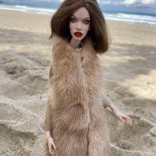 =3800 Продам норковую шубку для кукол Маргариты Кутуевой