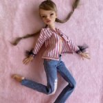 комплект на кукол Паши Сетровой, подходит также куклам Оли Юдинцевой