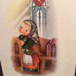 Кукла открытка Eva Harta
