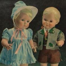 Schildkröt-Puppen каталог 1950 года