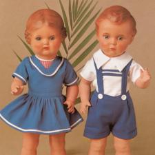 Schildkröt-Puppen каталог 1980 год