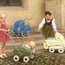 Коляски для наших любимых 50-60-х годов