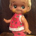 Кукла Япония  Sekiguchi 22 см. Клеймо.