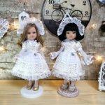 Платья для кукол Паола Рейна и кукол подобного формата