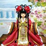"""М. К. """"Китайская принцесса"""" для кукол Паола Рейна"""