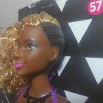 Barbie fashionistas 57  африканка пышка