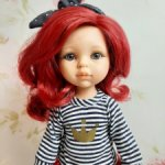 Кукла Даша (Малинка), 32 см, Паола Рейна