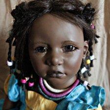 Моя первая кукла - Ayoka от Annette Himstedt
