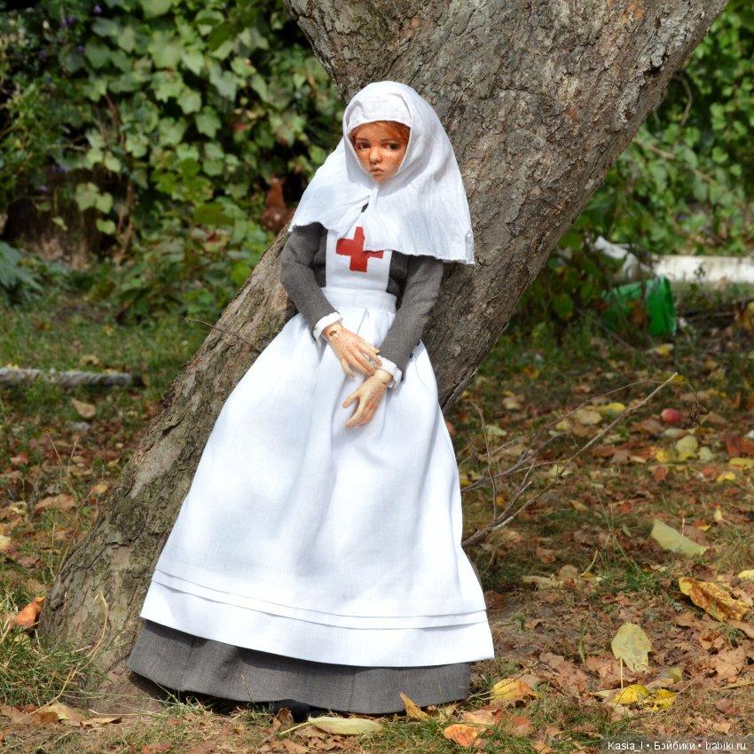 Костюм сестры милосердия ПМВ