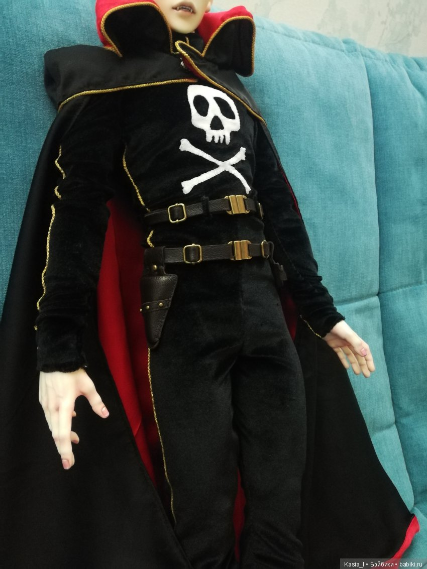 Косплей капитана Харлока