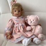 Платьице для куколок Elisabeth Lindner.
