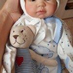 Продаётся кукла реборн, очень милая девчуля!