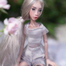 Nikole - презентация авторской шарнирной куклы Golikovaart