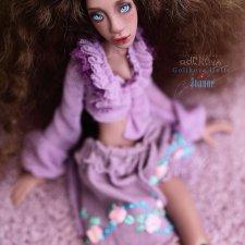Joanne - авторская, шарнирная кукла, Golikova art