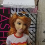 Рыжеволосая красотка Барби Barbie Fashionistas 122