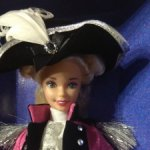 Кукла Барби коллекционная Джордж Вашингтон
