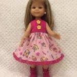 Лот из 2-х платьев для кукол Паола Рейна