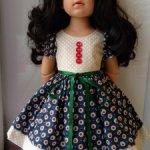 Платье для кукол 42-50см, Готц и подобных