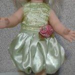 Платье и трусики для куклы Оля