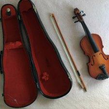 Скрипка в футляре для кукол