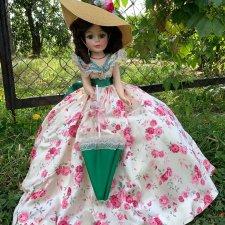 Скарлетт с зонтиком от Madame Alexander