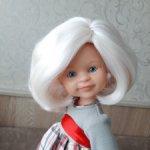 Паричок из козочки на Паоло Рейна блонд жемчуг Снизила цену!)