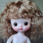 Шарнирная куколка ООАК