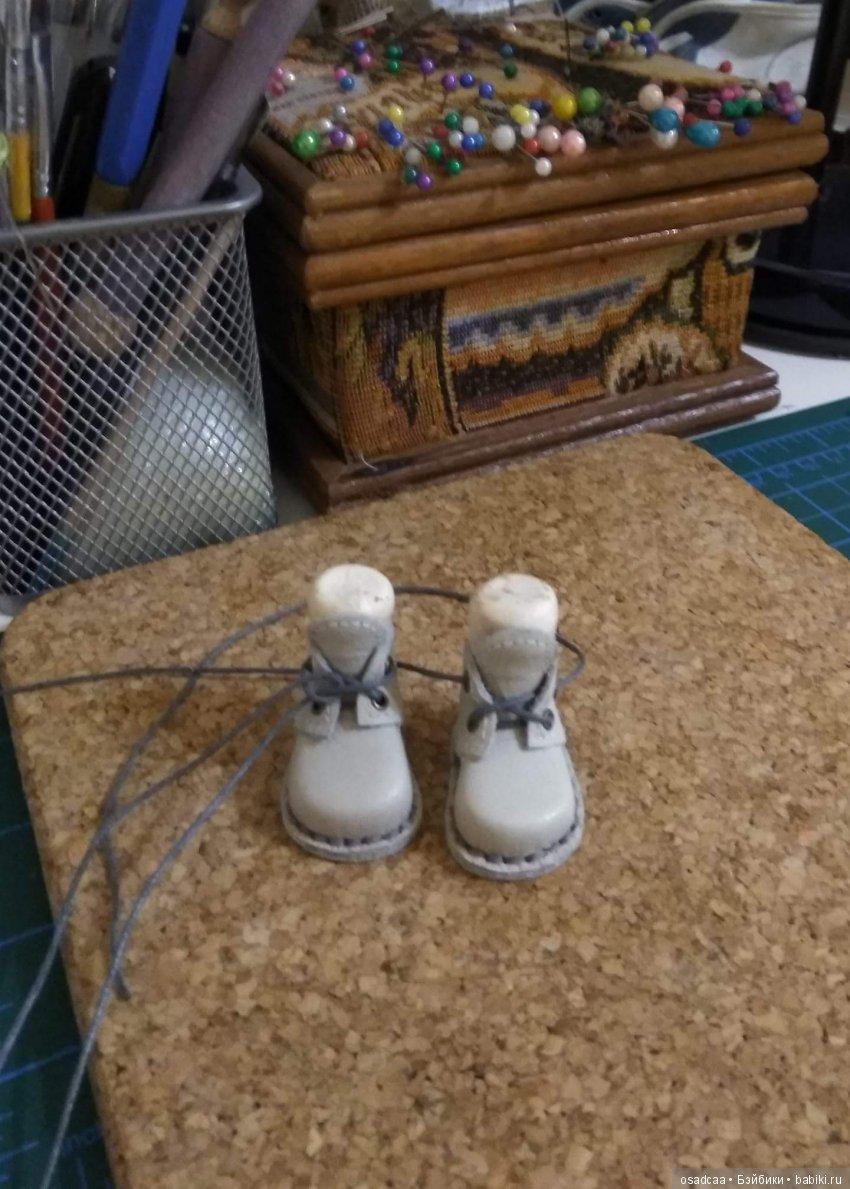 Ботинки из натуральной кожи для ноги 3,5 см