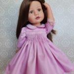 Платье с буфами для девочек Готц 36см.