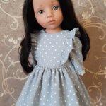 Платье для кукол Готц 50см