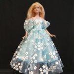 Платье для кукол Тоннера, тело Антуанетты (Ками)
