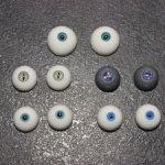 Глаза 12-14мм