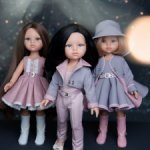 "Капсульная коллекция ""Розовый пепел"" для кукол Paola Reina"