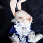 Белый кролик на заказ