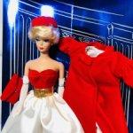 1998 год, Barbie Silken Flame, репродукция куклы 1962 года