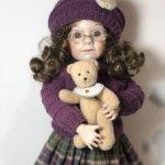 Фарфоровая репродукция куклы Love Me от Julie Good-Kruger, Джули Гуд-Крюгер