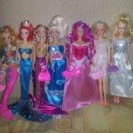 Куклы разные Барбиобразные, Штеффи Симба, малышки