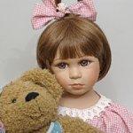 Кукла Викки с мишкой Ремеко (Remeco Colleсtion) Англия