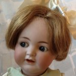Антикварная немецкая кукла фабрики Kammer & Reinhard , молд 126, 46см.