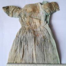 Что можно сделать, если антикварное кукольное платье восстановлению не подлежит